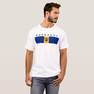Barbados country flag symbol long T-Shirt