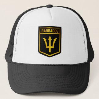 Barbados Emblem Trucker Hat
