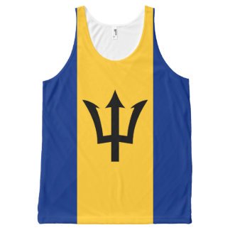 Barbados flag All-Over print singlet