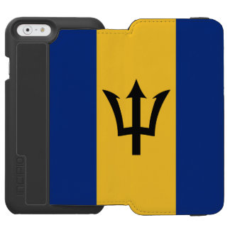 Barbados flag incipio watson™ iPhone 6 wallet case