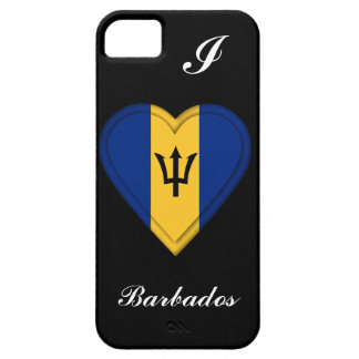Barbados Flag iPhone 5 Covers