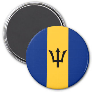 Barbados Flag Magnet