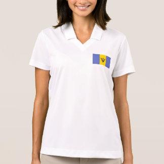 Barbados Flag Set Polo T-shirts