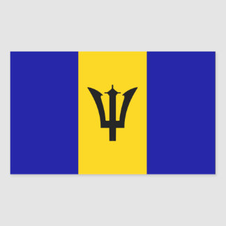 Barbados flag sticker