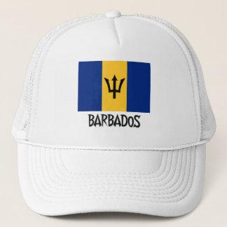 Barbados Flag Trucker Hat