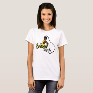 Barbados Island Girl T-shirt