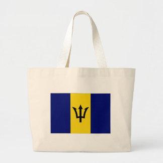 Barbados National Flag Tote Bag