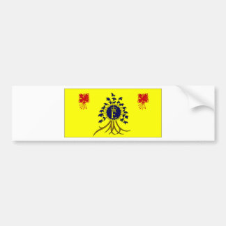 Barbados Personal Flag of HM The Queen Flag Bumper Sticker