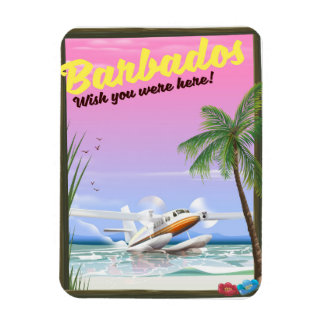 Barbados - wish you were here! magnet