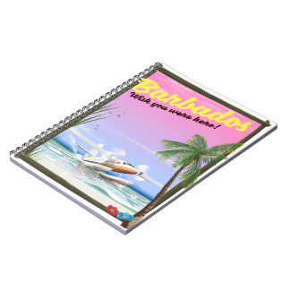 Barbados - wish you were here! notebook