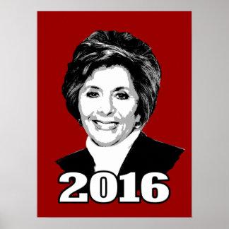 BARBARA BOXER 2016 Candidate Print