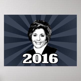 BARBARA BOXER 2016 Candidate Poster