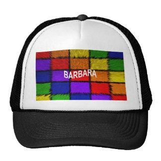 BARBARA ( female names ) Cap