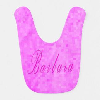 Barbara Girls Name Logo, Bib