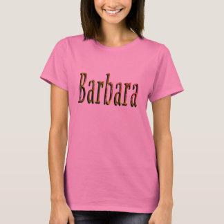 Barbara Girls Name Logo, T-Shirt