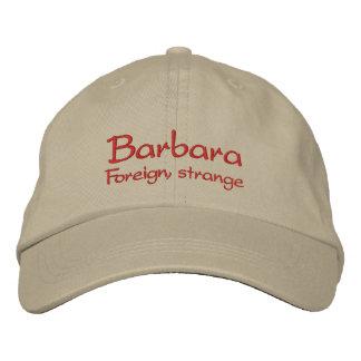 Barbara Name Cap / Hat Embroidered Baseball Cap