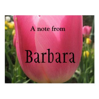 Barbara Postcard
