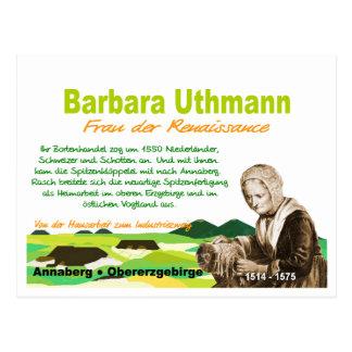 Barbara Uthmann Postcard