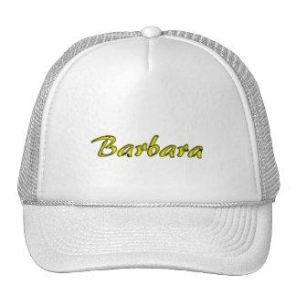 Barbara's cap trucker hat