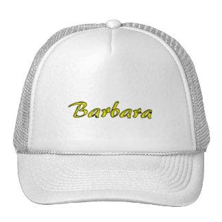Barbara's cap mesh hats