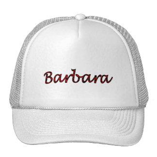 Barbara's mesh hat