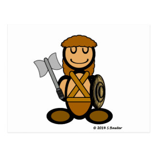 Barbarian (plain) postcard