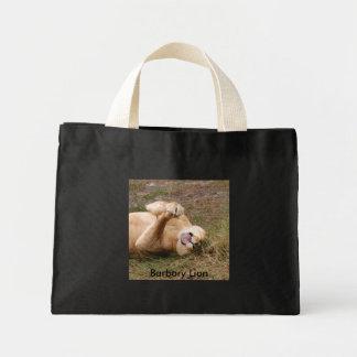 Barbary Lion-nap-022, Barbary Lion Mini Tote Bag