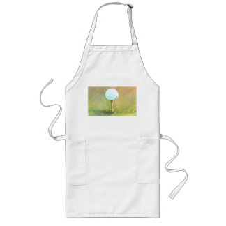 Barbecue Apron with a Golf Ball