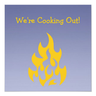 Barbecue Cook-out Invitation Card