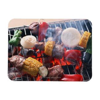 Barbecue Rectangular Magnet