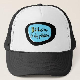 Barbecue Is My Passion (Aqua) Retro Trucker Hat