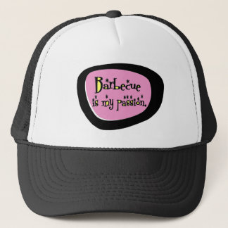 Barbecue Is My Passion (Pink) Retro Cap