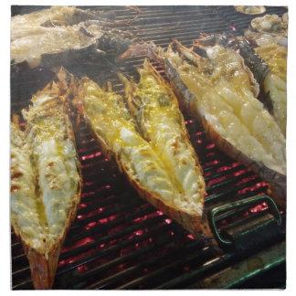 Barbecue Lobster Napkin