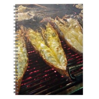 Barbecue Lobster Notebook
