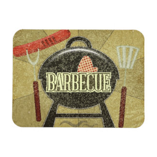 Barbecue Menu Magnet