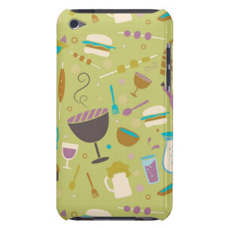 Barbecue Pattern Case-Mate iPod Touch Case