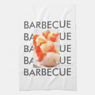 Barbecue Style Tea Towel