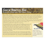 Barbecued Plank Sockeye Salmon Personalized Invitations