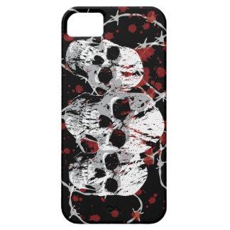 Barbed Skulls Custom iphone 5 Case