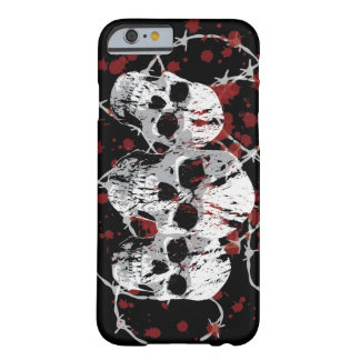 Barbed Skulls Custom iPhone 6 case Barely There iPhone 6 Case