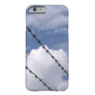 Barbed Wire Against Cloudy Sky Case Barely There iPhone 6 Case