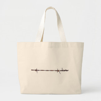 Barbed Wire Tote Bags