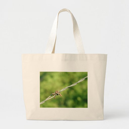 Barbed Wire, Barbed, Wire, Fencing Canvas Bag