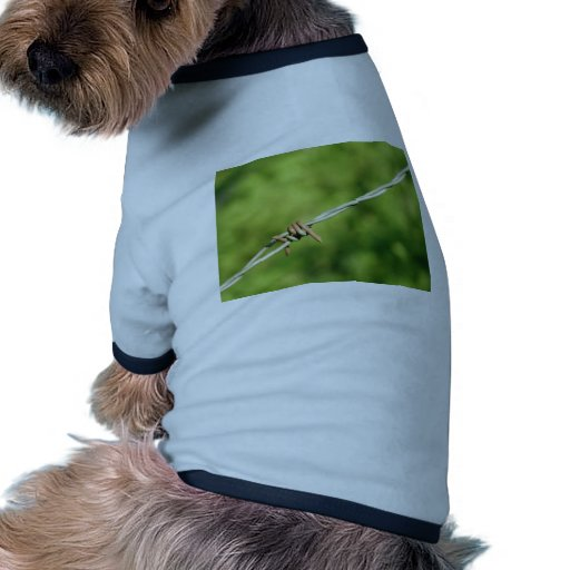 Barbed Wire, Barbed, Wire, Fencing Doggie T-shirt