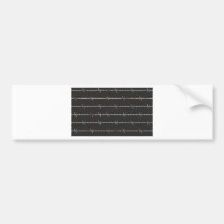 Barbed Wire Bumper Sticker