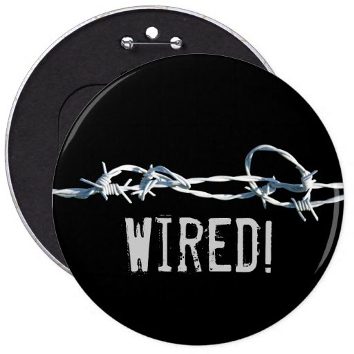 Barbed Wire Button