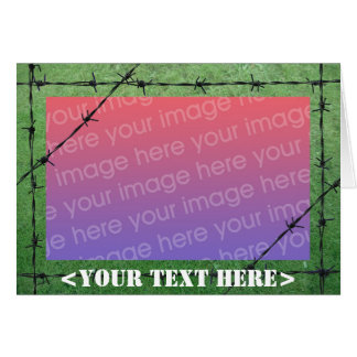Barbed Wire Card