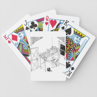 Barbed Wire Cartoon 5103 Bicycle Playing Cards