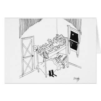 Barbed Wire Cartoon 5103 Card