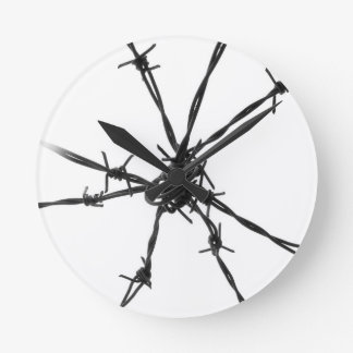 Barbed Wire Wallclock